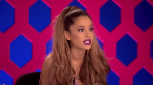 Ariana Grande guest hosts on this episode of Drag Race.