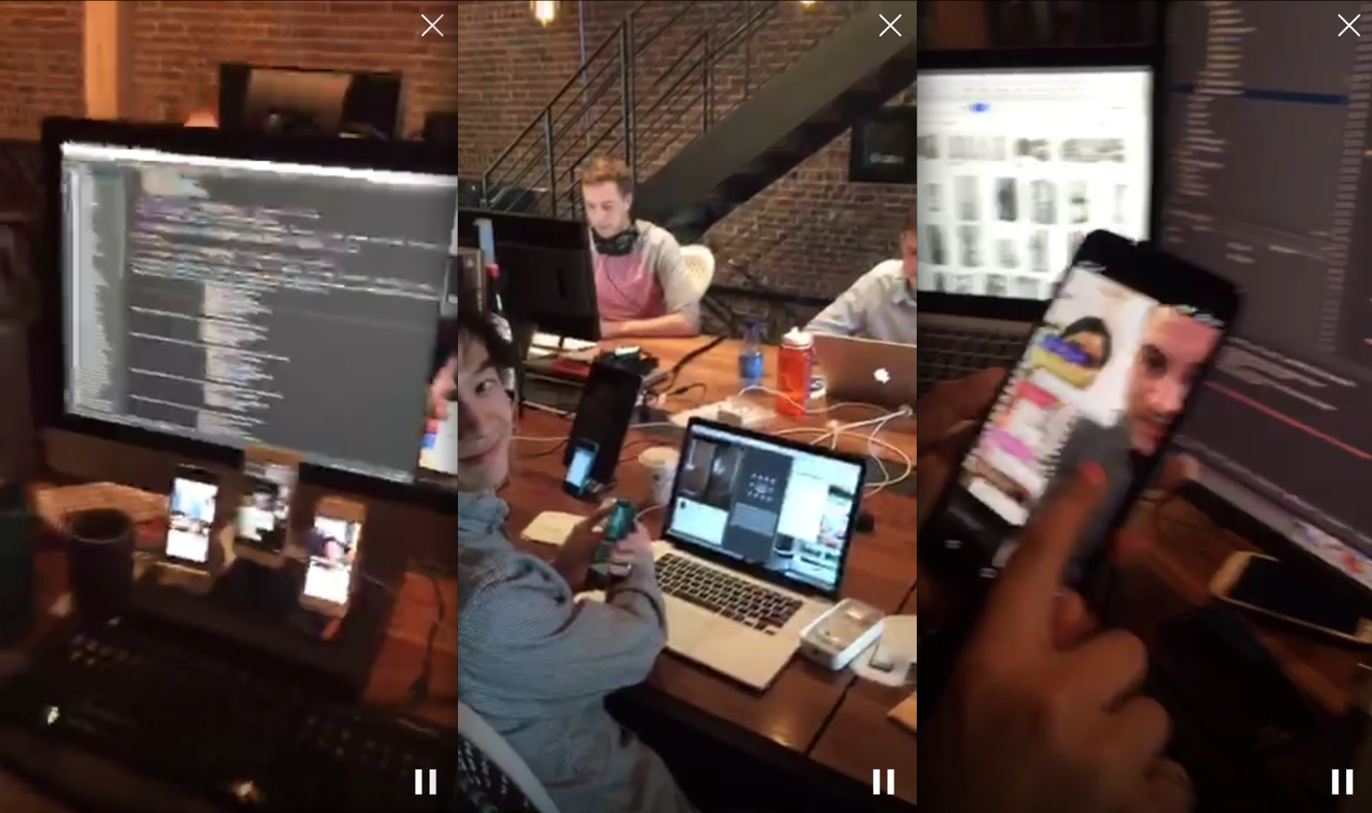 The Android team is rolling out the new app. (Screengrab: Jack Smith IV)