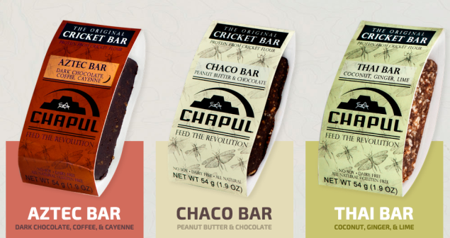 Chapul's bars come in three varieties. (Photo: Chapul.com)