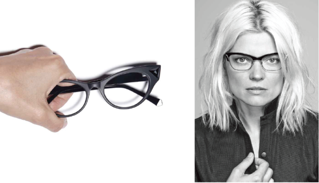 Proceeds from the kids optical frames will benefit a childrens healthcare non-profit. Photo: Black Frame)