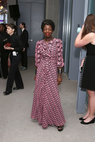Thelma Golden== Whitney Museum of American Art Hosts Inaugural Dinner & First Look== New Whitney Building, 99 Gansevoort, NYC== April 20, 2015== ©Patrick McMullan== photo - J Grassi/PatrickMcMullan.com== ==