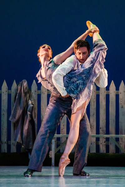 Emily Adams and Christopher Ruud  in Ballet West's The Lottery.