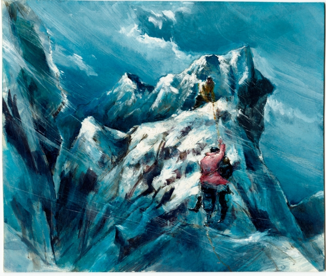 TyrusWong,EdgeofGorge,1958);preproductionillustrationforTheIcePalace,WarnerBros.,1960). The film will screen at the museum  on Friday June 19.