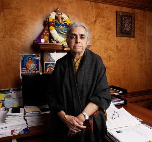 Dr. Uma Mysorekar. Photo by Celeste Sloman/New York Observer.