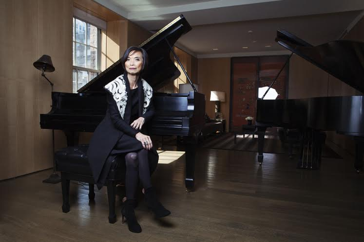 At home with Josie Natori, DesignerPortrait of Josie Natori in her music roomphoto: Celeste Sloman