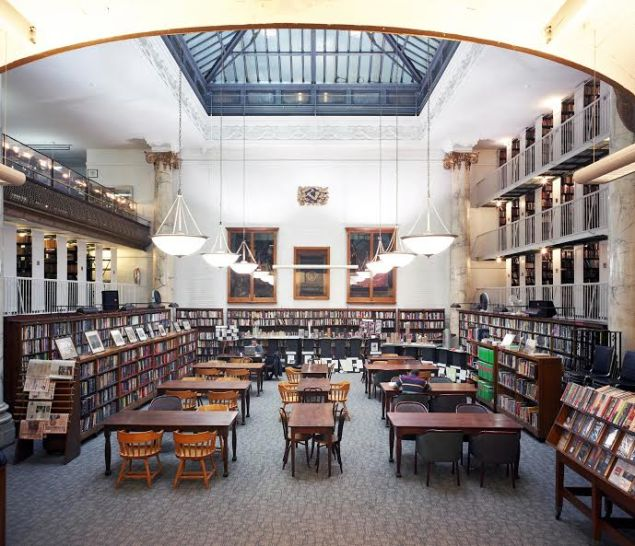 The General Society Library. (Photo Credit: Steve Amiaga. Courtesy of the General Society of Mechanics and Tradesmen)