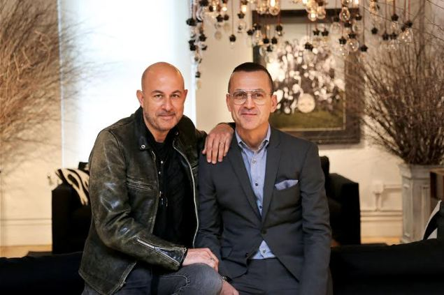 John Varvatos, Men's Fashion Designer, and Steven Kolb, CEO of CFDA.