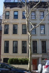 The four-unit renovation at 554 East 82nd St.
