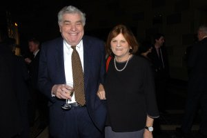 Victor Gotbaum and Betsy Gotbaum (Photo: Joe Schildhorn/Patrick McMullan)