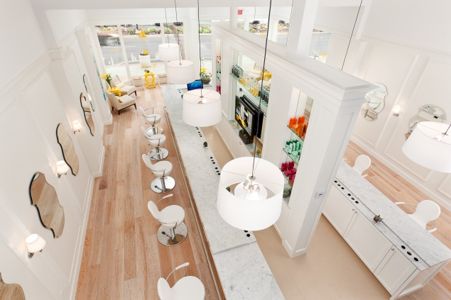 DryBar, a one-treatment salon, only offers blowouts.