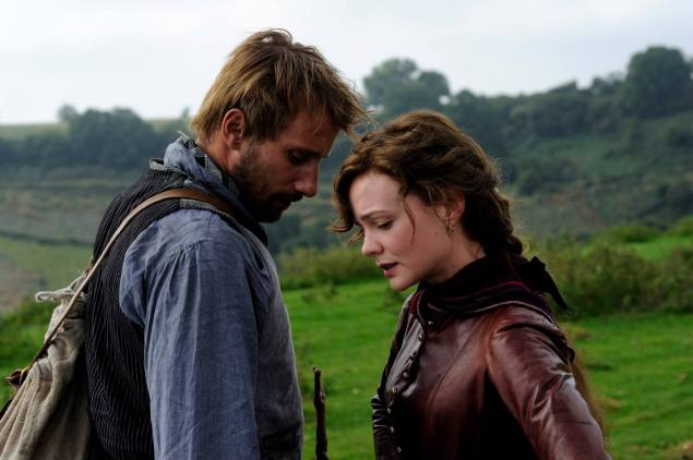 Carey Mulligan and Matthias Schoenaerts in Far From the Madding Crowd.