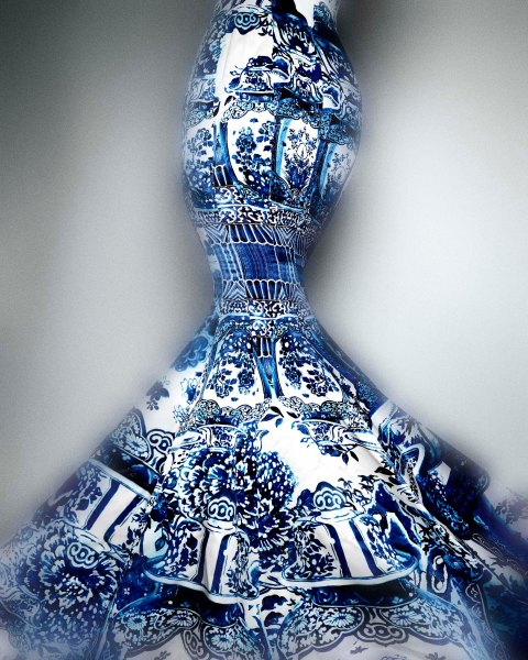 04. Evening Dress, Roberto Cavalli, Fall 2005