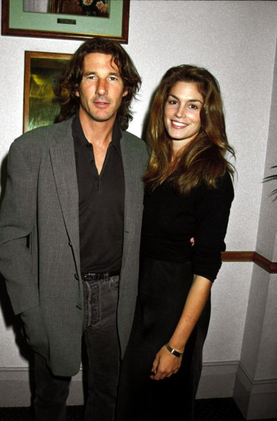Mr. Gere and Ms. Crawford, around 1991. (Photo: Dave Benett/Getty Images)