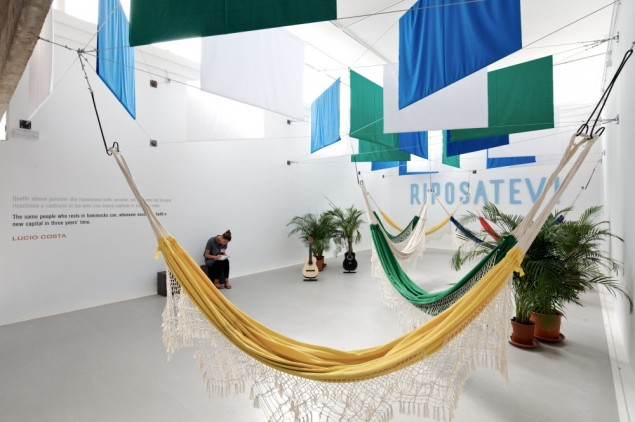 The Costa Rica pavilion from the 2012 Venice Architecture Biennale (Getty)