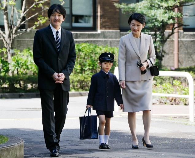 Prince Hisahito. (Photo: Getty)