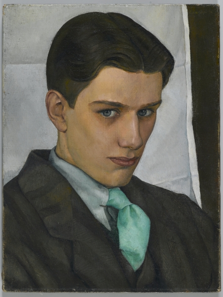 Luigi Lucioni (American, born Italy, 1900-1988). Paul Cadmus, 1928. Oil on canvas, 16 x 12 1/8 in. (40.6 x 30.8 cm). Brooklyn Museum, Dick S. Ramsay Fund, 2007.28
