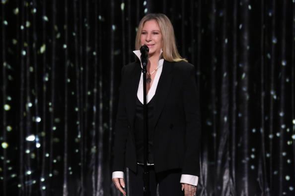 Barbra Streisand. (Photo by: Douglas Gorenstein/NBC)