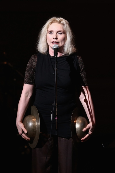 Debbie Harry performs on stage at Tibet House Benefit Concert 2015 at Carnegie Hall on March 5, 2015 in New York City.  (Photo: Getty Images)