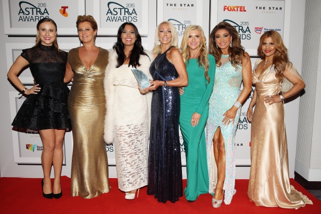 The cast of The Real Housewives of Melbourne, Season 2. (Photo: Getty)