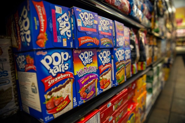 Pop Tarts contain high-fructose corn syrup. (Photo: Getty)
