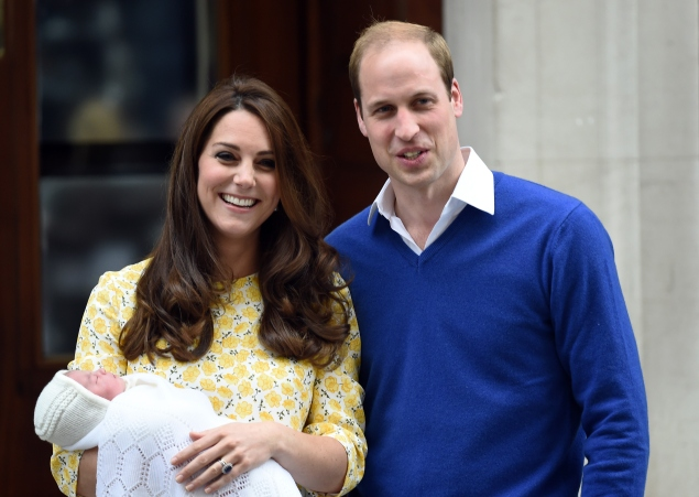 Princess Charlotte Elizabeth Diana was born this past weekend. (Photo: Getty)