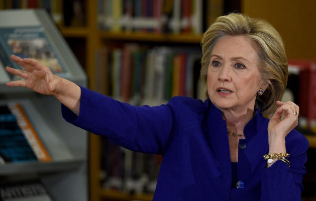 Hillary Clinton on the campaign trail. (Photo: Ethan Miller/Getty Images)