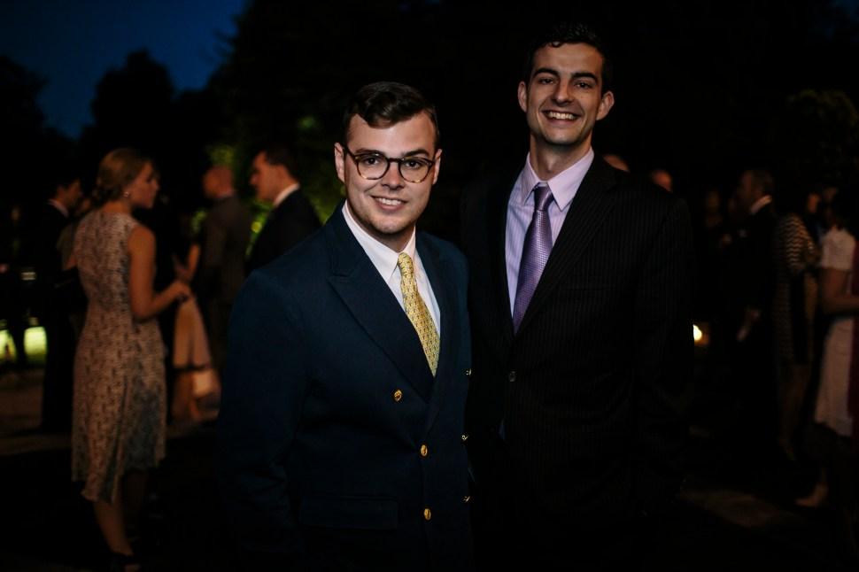 Zachary Weiss, Bill Fletcher (Photo: Getty Images).