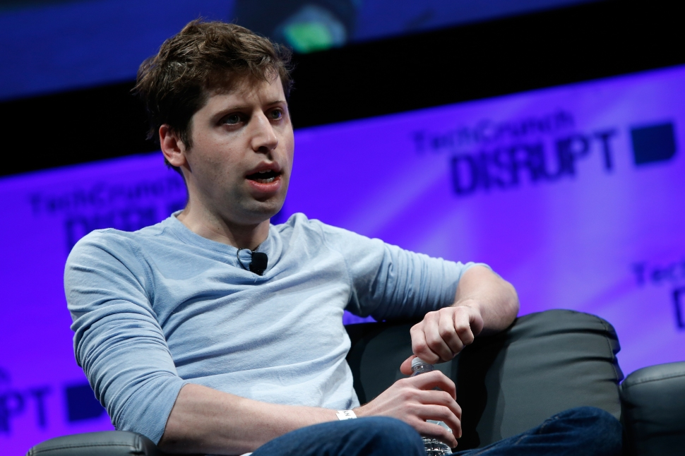 Sam Altman speaks at TechCrunch Disrupt on May 5, 2014 in New York City.  (Photo by Brian Ach/Getty Images)