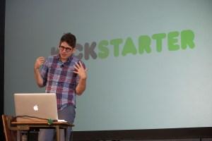 Yancey Strickler, co-founder of Kickstarter (Photo: Rex Hammock/Flickr)