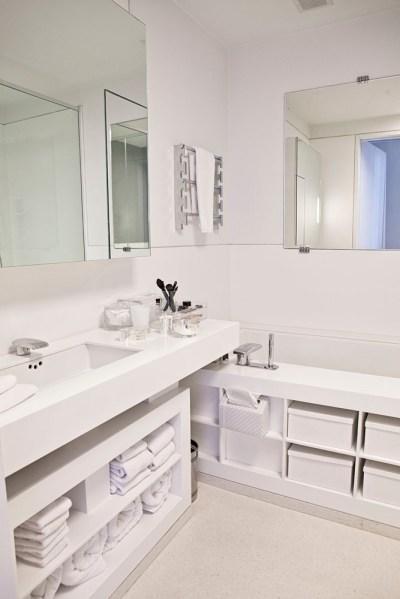 The bathroom. (Photo: Celeste Sloman/New York Observer)