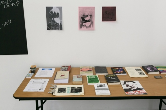 Bonnie Camplin The Military Industrial Complex, South London Gallery, 13–15 June 2015 (Photo:Ollie Hammick/The Artist Cabinet London and South London Gallery)