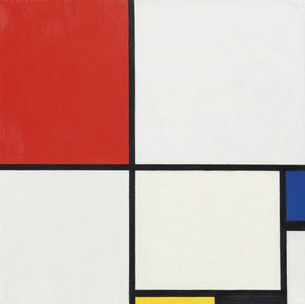 Piet Mondrian's (Photo: Christie's Images Ltd.)