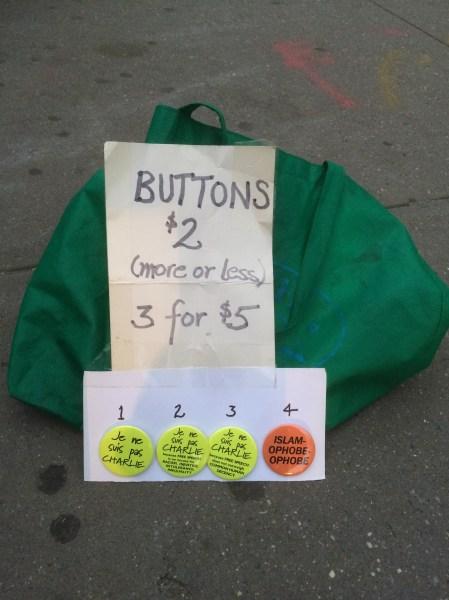 Buttons. (Photo: Matthew Kassel)