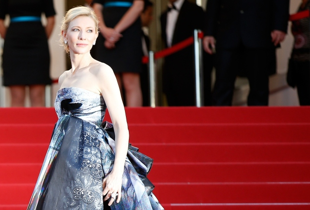 Cate Blanchett in Cannes. (Photo: Getty Image)
