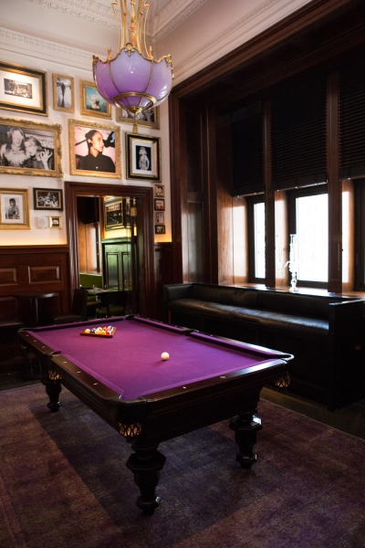 The Billiard Room at the Clock Tower, situated in the old MetLife building. (Photo: Arman Dzidzovic/New York Observer)