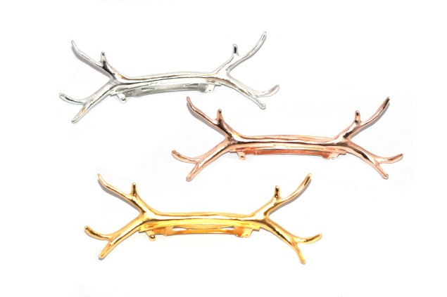 The antlers are also available in barrette form. (Photo: Epona Valley)