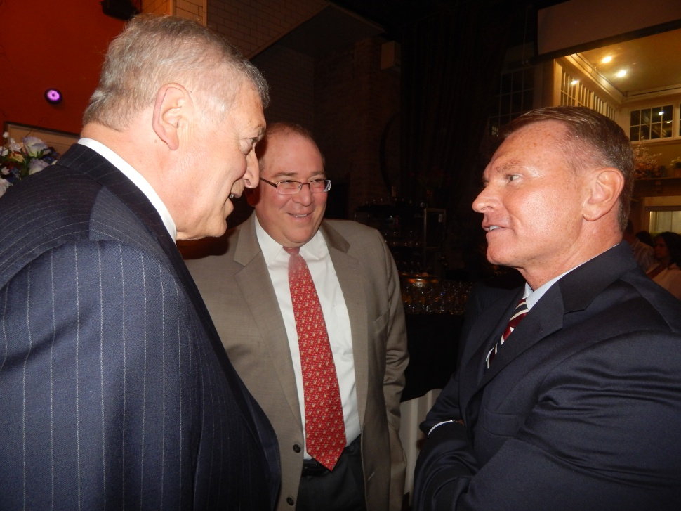 From left: Cimino, Kaufman, and Durkin.