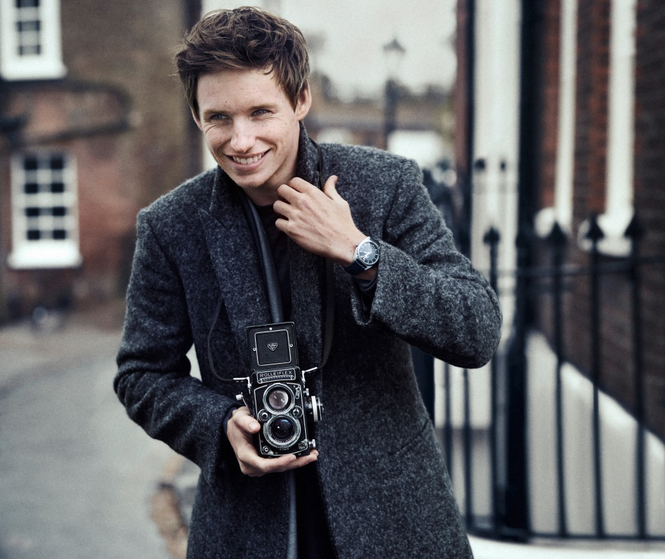 Eddie Redmayne (Photo: Omega Watches).