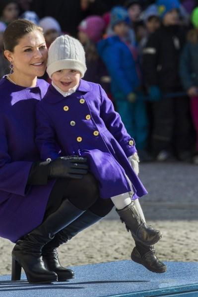 Princess Estelle of Sweden.