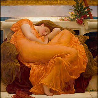 Flaming June, 1895, by Frederic Lord Leighton. (Courtesy: The Frick)