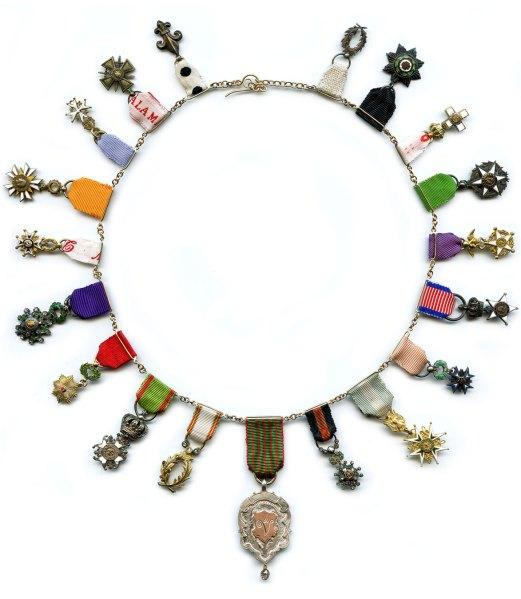 A necklace by De Vera.