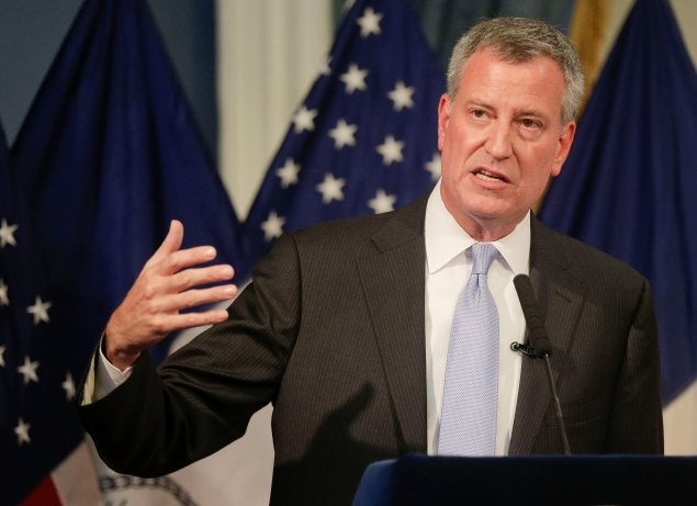Mayor Bill de Blasio (Photo: Julie Jacobson-Pool/Getty Images)