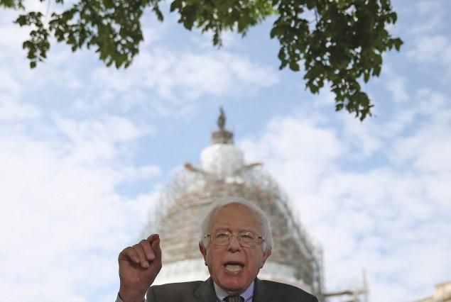 Vermont Sen. Bernie Sanders.  (Photo by Mark Wilson/Getty Images)