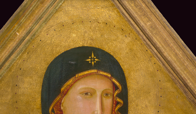Madonna and Child, 1290 - 1295, Master of St. Cecilia. Tempera and gold leaf on panel. (Photo: J. Paul Getty)Museum.