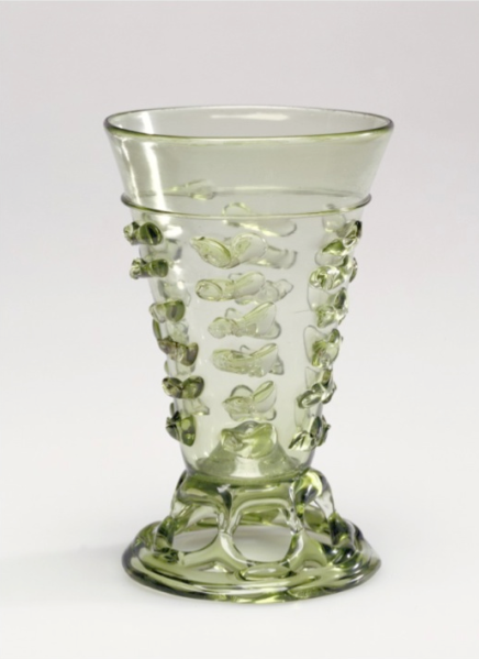 Footed beaker, 1500 - 1550, Unknown.(Photo: J. Paul Getty Museum)