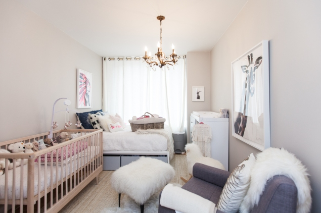 Baby Margaux's room. (Photo: Emily Assiran/New York Observer)