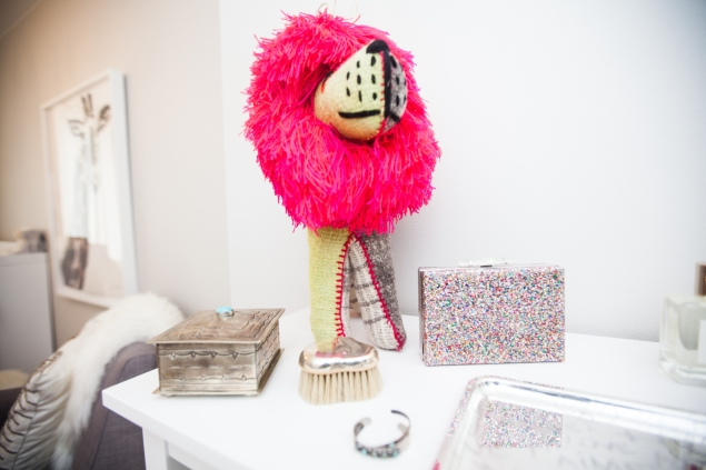 A collection of trinkets. (Photo: Emily Assiran/New York Observer)