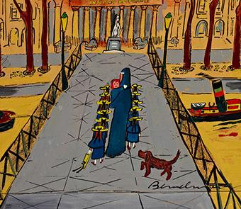 In 2014, The New-York Historical Society had an exhibition devoted to the art of Ludwig Bemelmans, the creator of Madeline. (Courtesy New-York Historical Society)