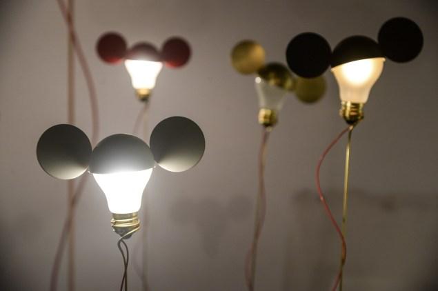 Works on display in Collective Influence: Ingo Maurer. (Photo: Scott Rudd)