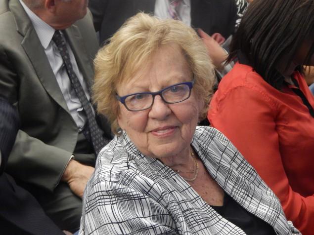 Senate Majority Leader Loretta Weinberg.